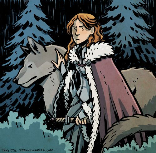 A Lady And Her Dire Wolf: 1000+ Images About My Favorite Dire-wolf (Lady) Sky On