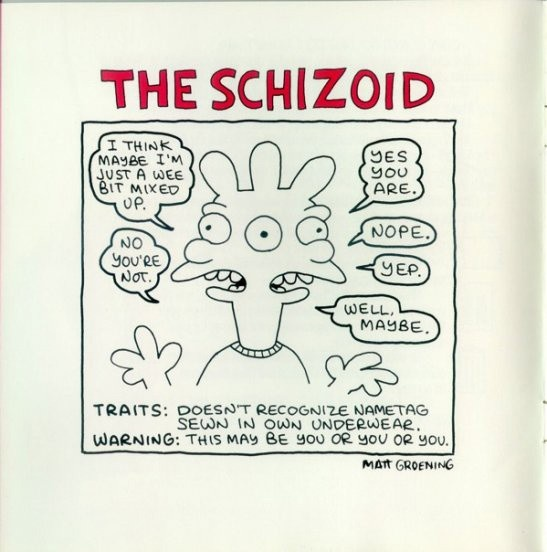 schizoid personality disorder Schizoid personality disorder is one of a group of conditions called eccentric personality disorders learn more from webmd about its diagnosis, symptoms, and treatment.