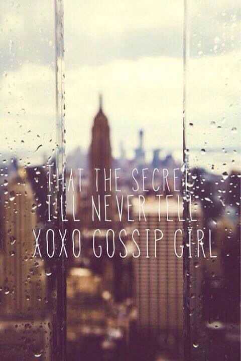 Xoxo Gossip girl!! | These are a few of my favorite things | Pinterest