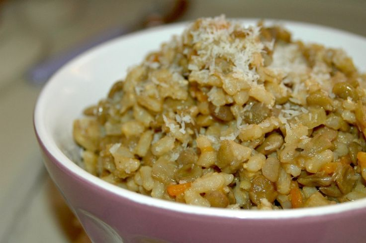 Coconut Curried Lentils and Brown Rice | Gluten-Free | Pinterest