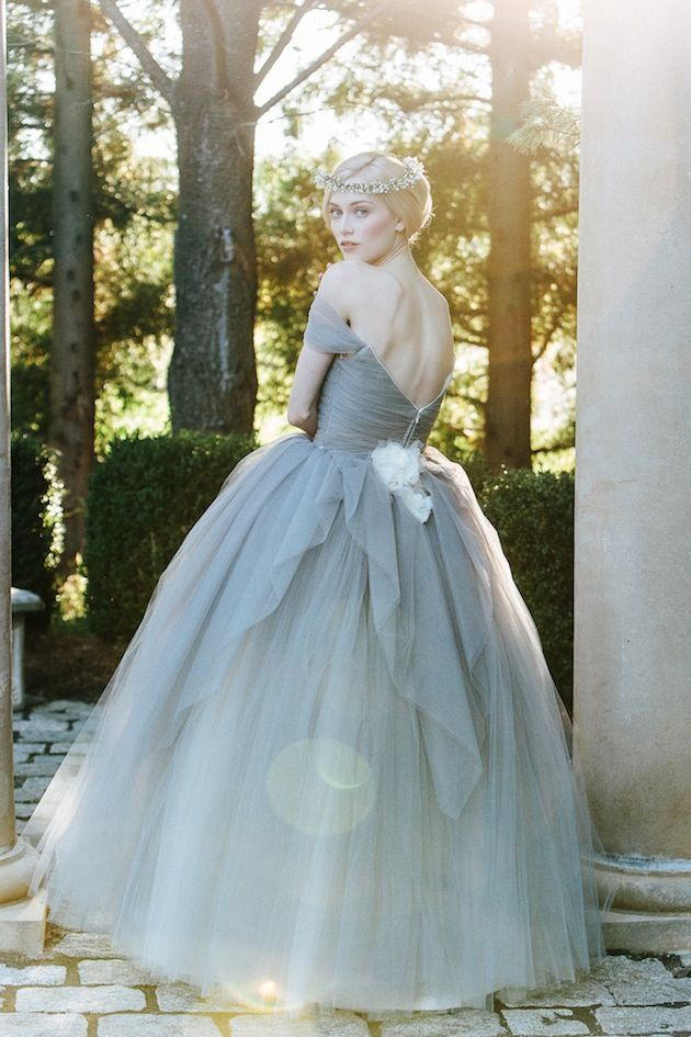 Marie antoinette ball gown wedding dress by sareh nouri for Marie antoinette wedding dress