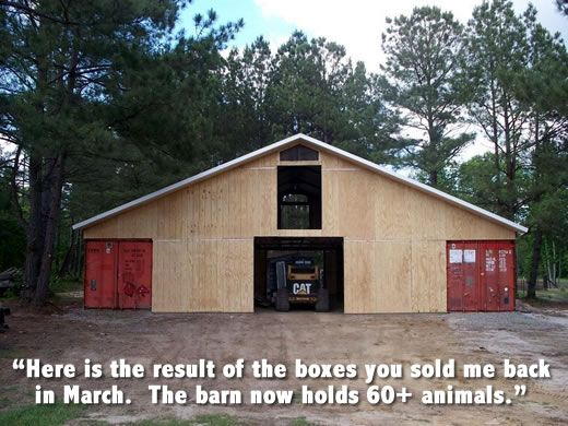 How To Build A Barn From A Shipping Container Joy Studio