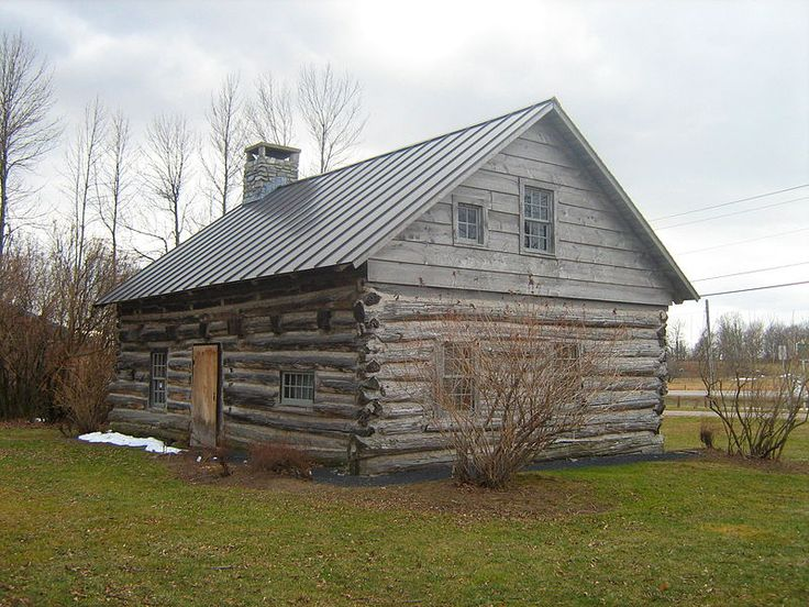 Hyde Log Cabin Was Built By Jedidiah Hyde Jr Around 1783