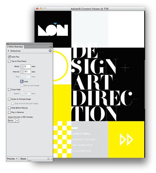 how to make graphic design portfolio