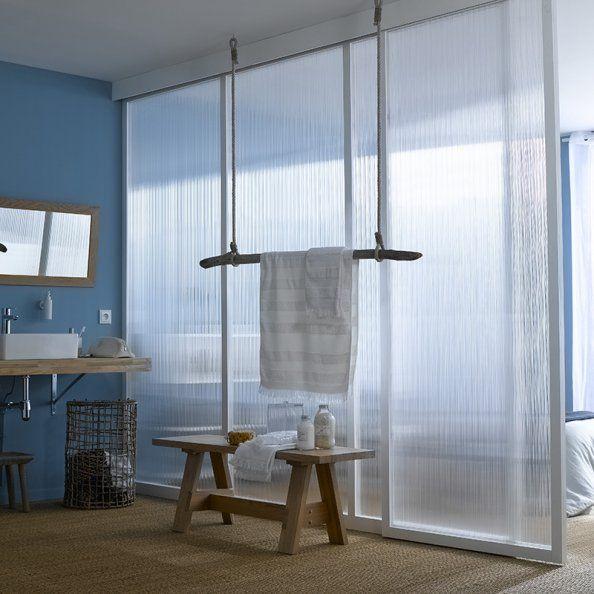 Cloison transparente leroy merlin salles de bains - Cloison mobile leroy merlin ...