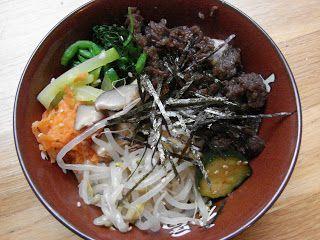 Bibimbap Easy make at home Korean style bibimbap. Great for get ...