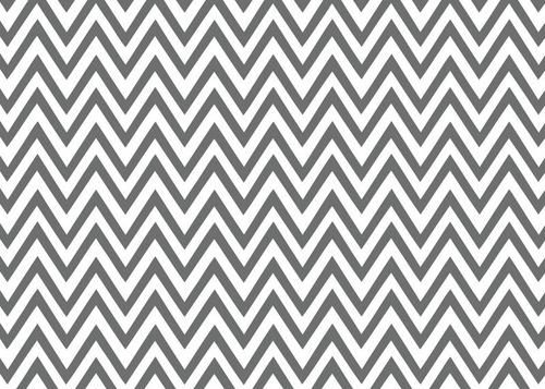 Soft grey chevron patterned wallpaper for the home for Grey patterned wallpaper