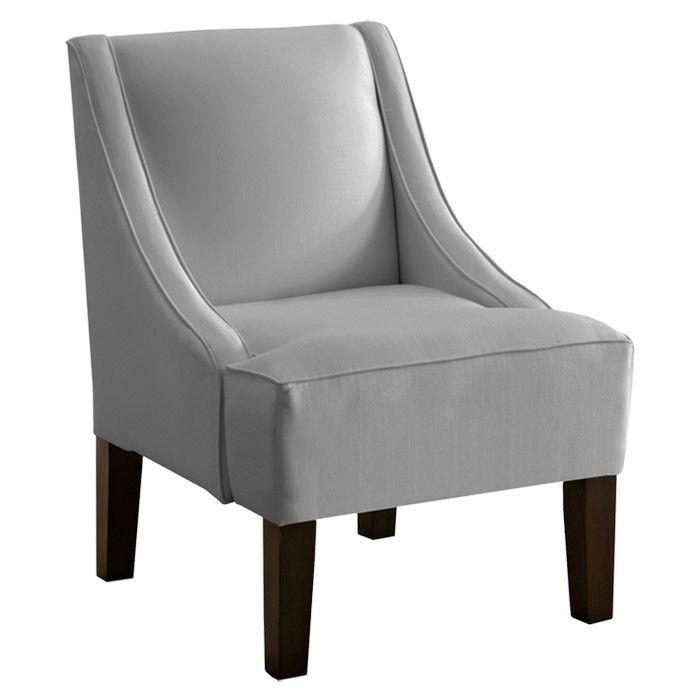 Coraline swoop arm chair home love pinterest