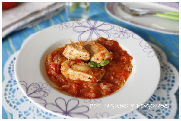fish in tomato sauce | Delishusness | Pinterest