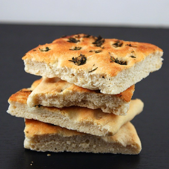 Garlic and Thyme Focaccia