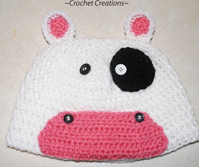 Crochet Pattern Cow Hat : Crochet Cow hat by Amy Lehman Crochet for Head/Neck ...