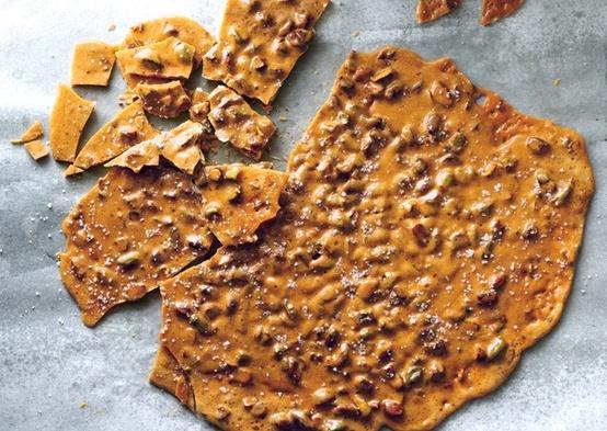 Salted Pistachio Brittle | Cookies & ? | Pinterest