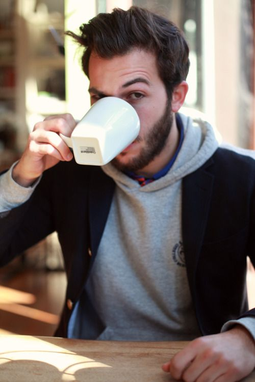blazer + hoodie