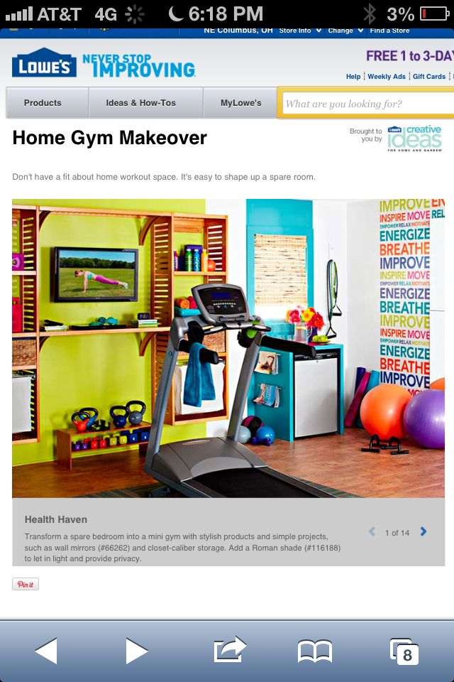 Pin by lindsey racine on workout room pinterest for Workout room colors