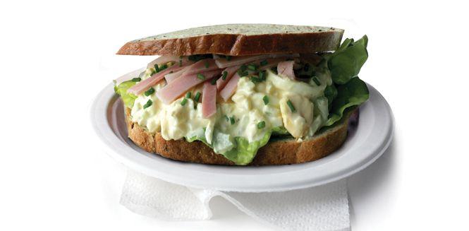 Delicious Egg Salad Sandwich. | Eggs! | Pinterest