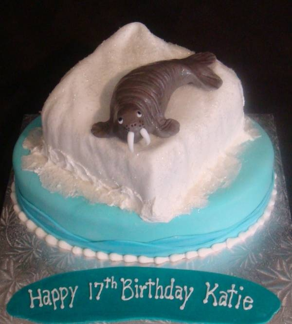 Pictures Of Walrus Birthday Cake Video Kidskunstfo