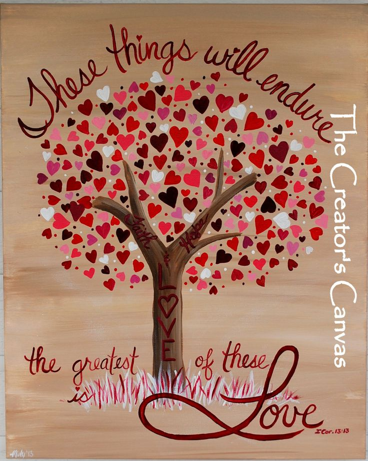 tree pictures with scripture verses hope and love