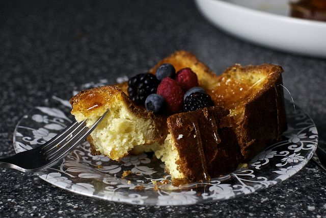 creme brulee french toast by smitten, via Flickr