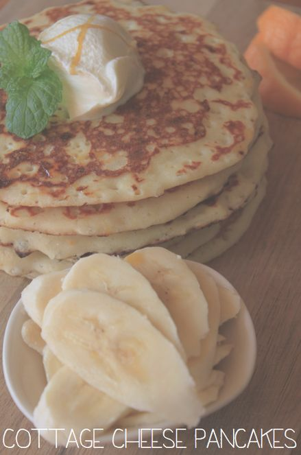 Cottage Cheese Pancakes | Savory | Pinterest