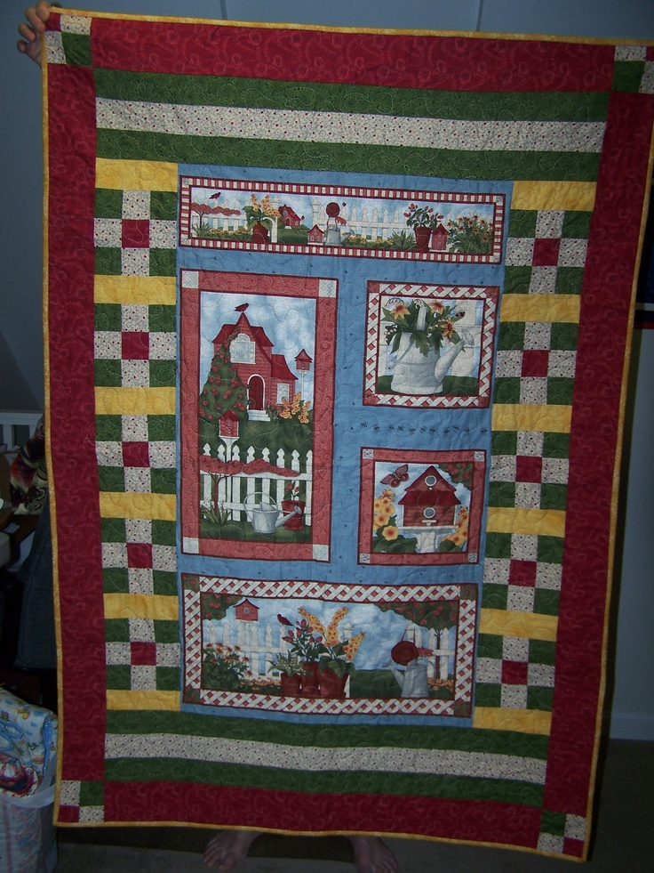 Pin by Maria Wiegel on Panel quilts Pinterest