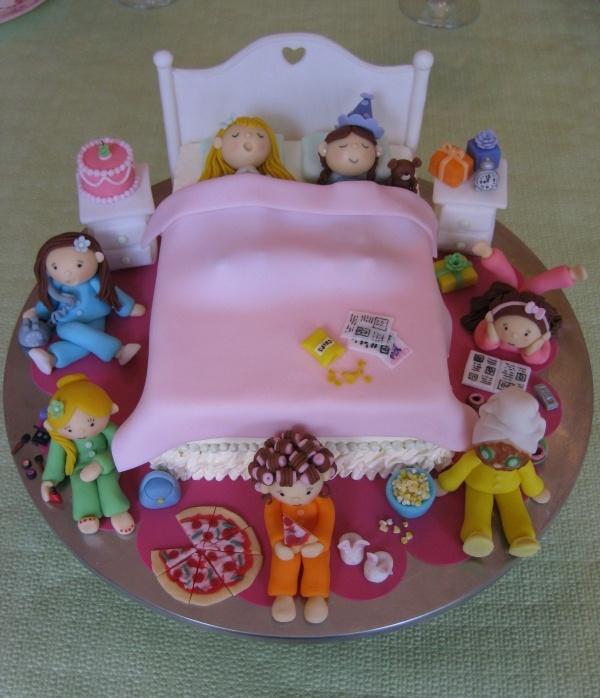 Slumber Party Cake Images : Sleepover Ashley s winter sleep over Pinterest