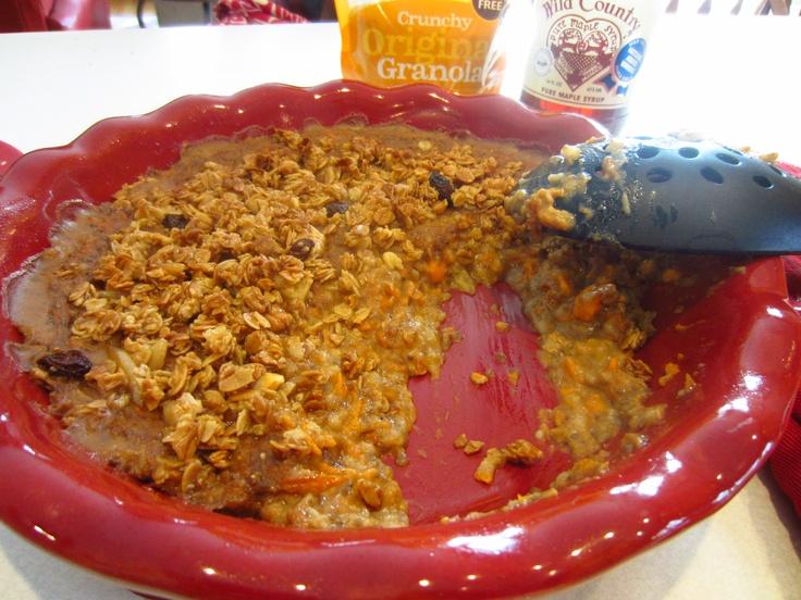 Sweet Potato Oatmeal Breakfast Casserole Recipe — Dishmaps