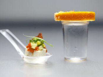 Top Chef Tofu Ceviche, Lemon-Lime, Tequila and Guajillo-Achiote ...