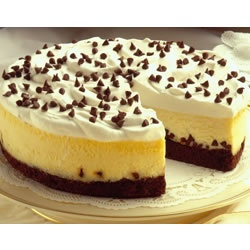 Brownie Chocolate Chip Cheesecake. I've made this so many times. Super ...