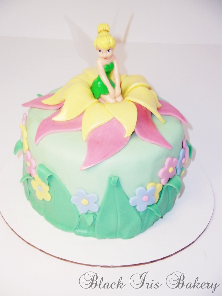 Tinkerbell Cake - she's my favorite