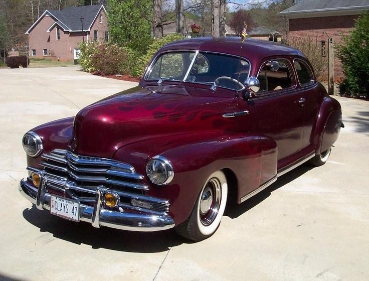 1947 chevrolet fleetmaster coupe gm cars pinterest for 1947 chevy fleetline 4 door