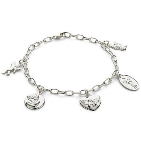 Silver Angel Charm Bracelet at JCPenney | JcPenny | Pinterest