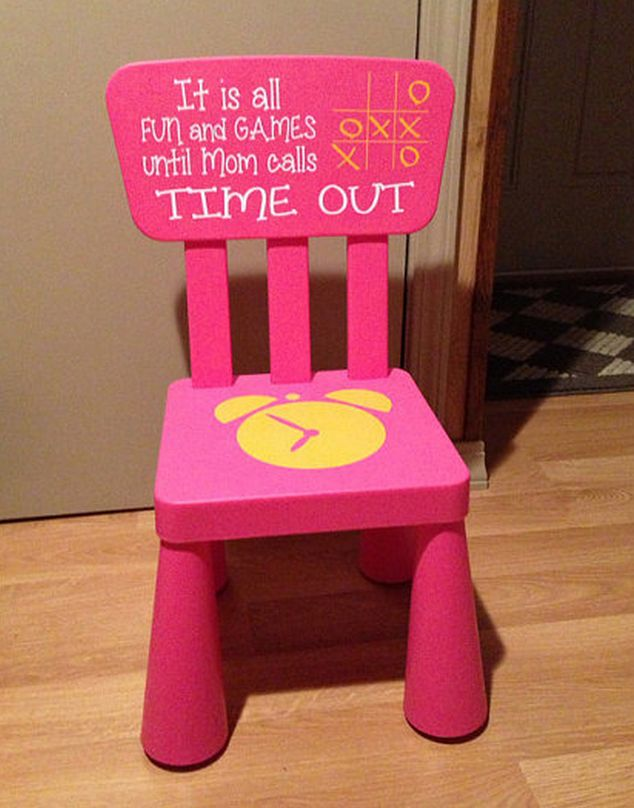 time out chair ideas keren loves pinterest