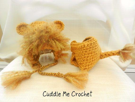 Crochet Lion Hat