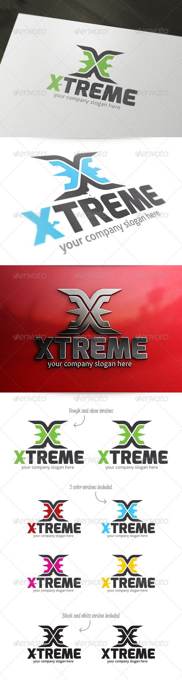 Found on graphicriver netX Letter Logo