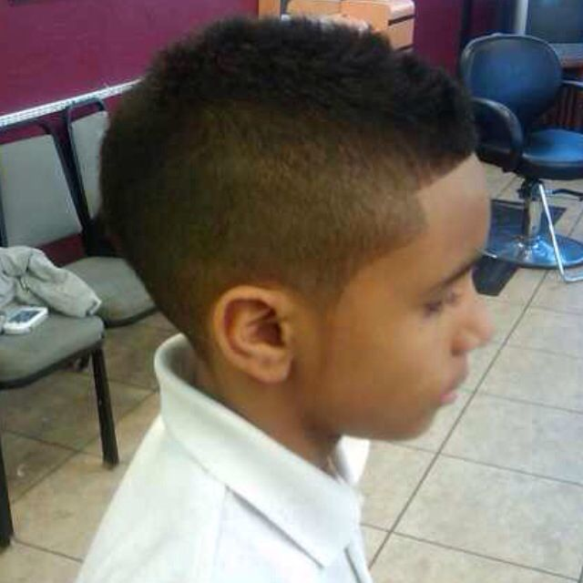 Go Back > Gallery For > Mohawk Haircut For Black Kids