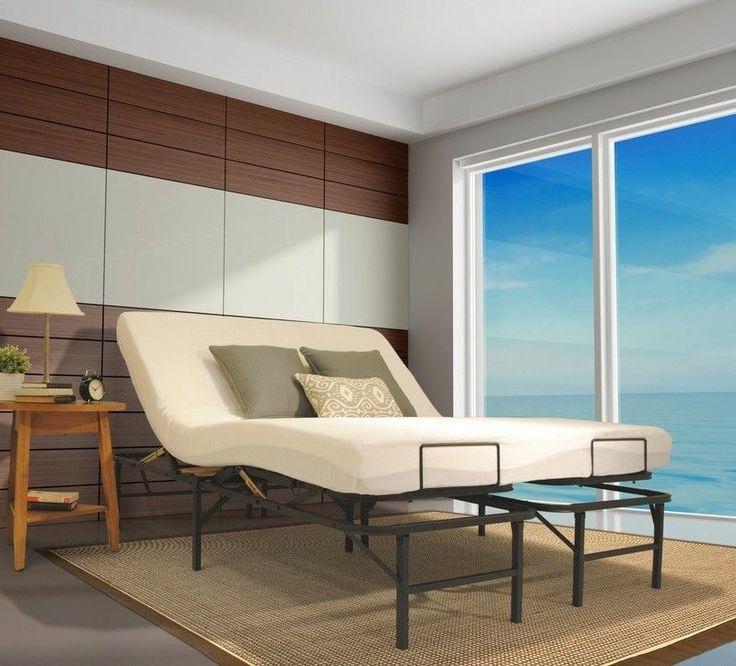 Best Adjustable Steel Folding Bed Frame Twin Full Queen King 400 x 300
