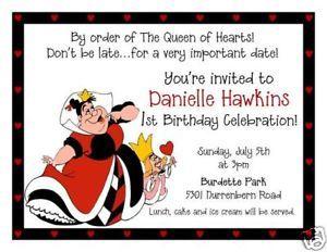 Wonderland Invitations is best invitation sample