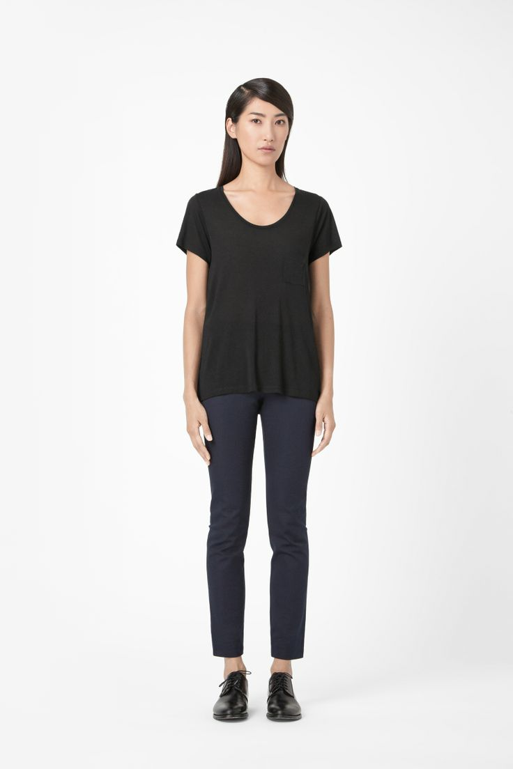 COS - T-shirt with pocket | dress up in you | Pinterest