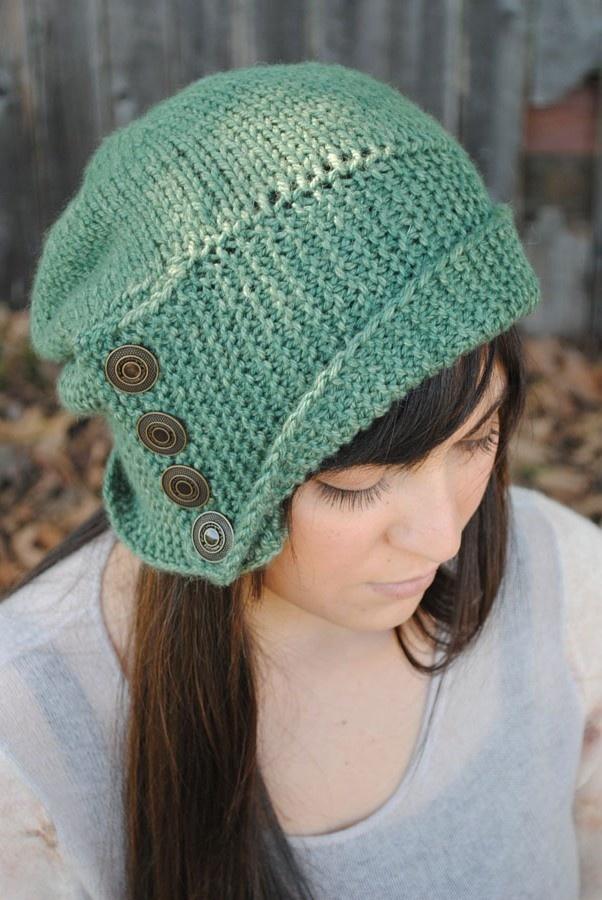 Knitting Pattern Hood Hat : Robin Hood