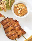 Beef Satay with Spicy Peanut Sauce - Oprah.com