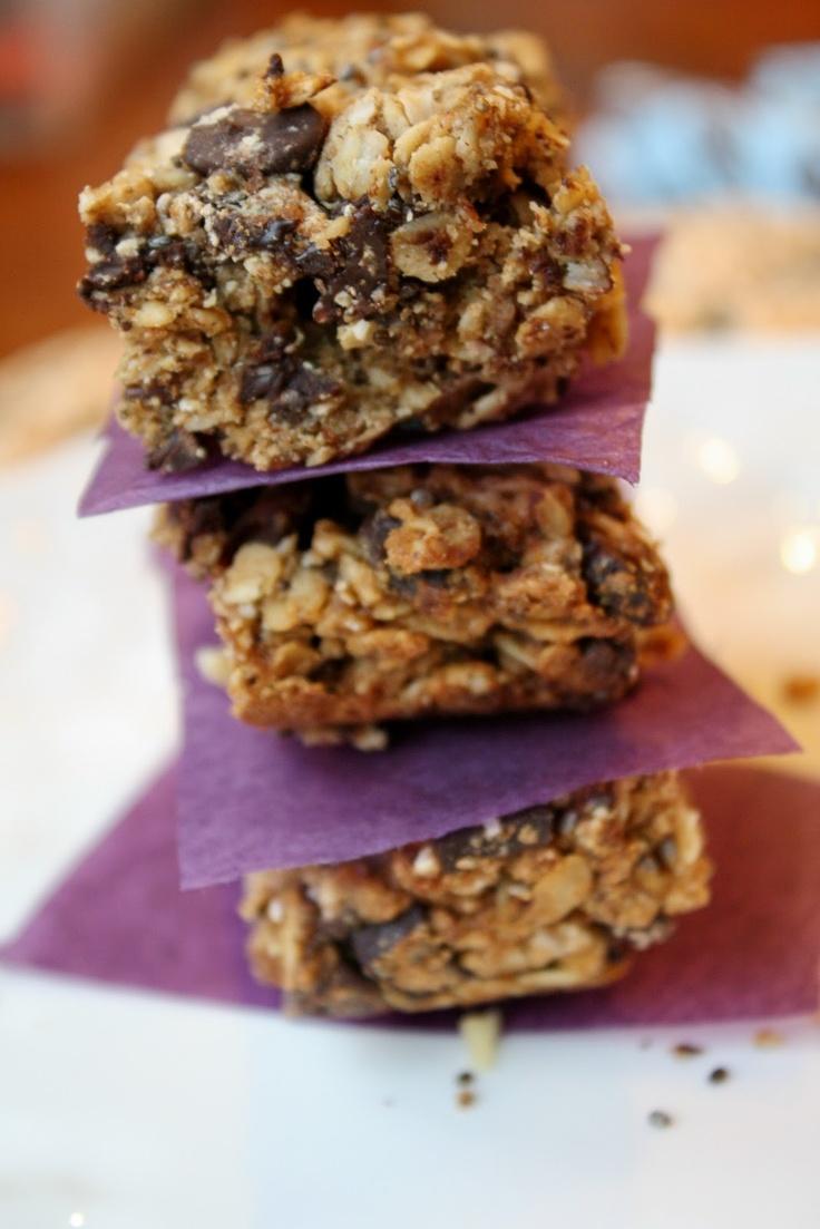 Heavenly Gluten Free-Vegan Soft & Chewy Granola Bars | Tessa the ...