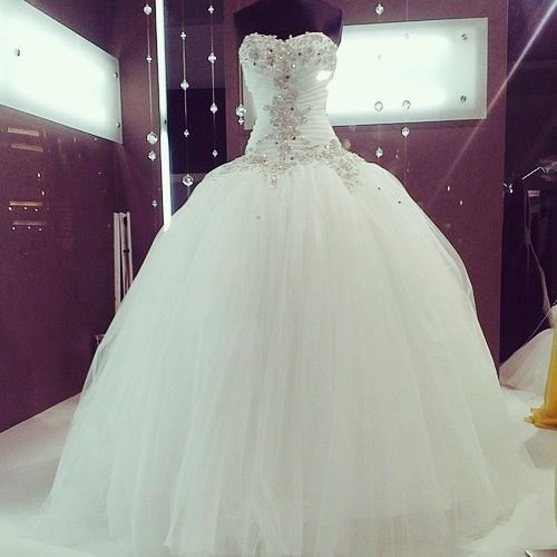 Cinderella ball gown dresses fit for a princess pinterest for Big white wedding dresses