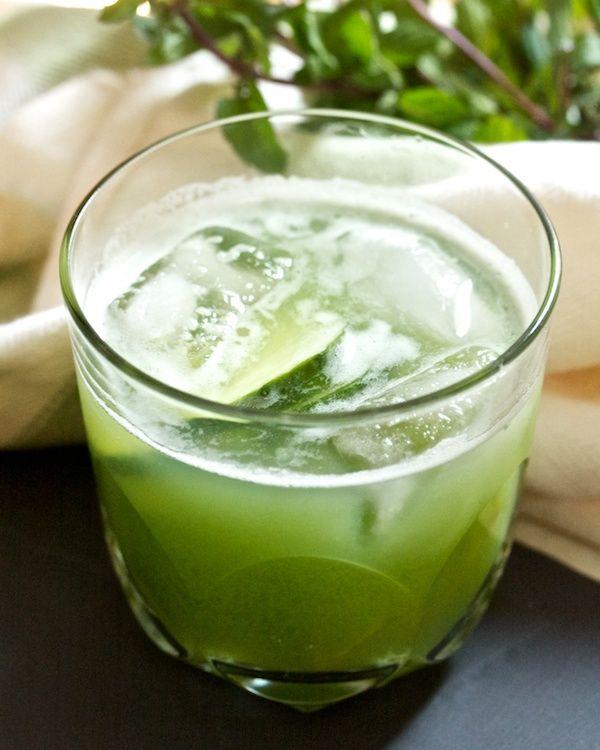 Minted Cucumber Cooler   I finally got my juicer!   Pinterest
