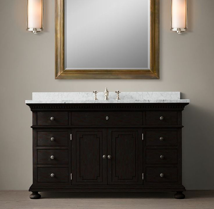 St. James Single Extra-Wide Vanity Sink
