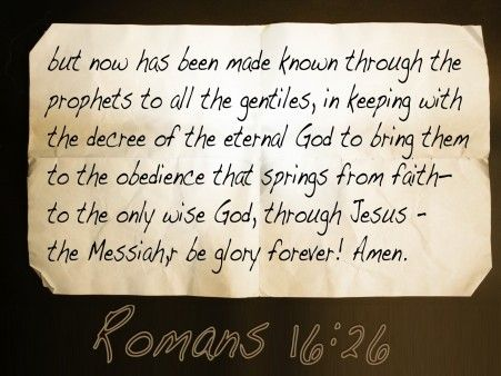 romans and the christian worldview essay