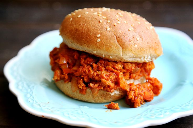 Vegan Sloppy Joes | Vegan Recipes! | Pinterest