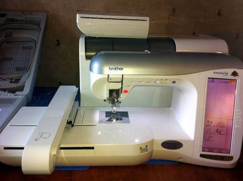 innovis 4000d sewing embroidery machine