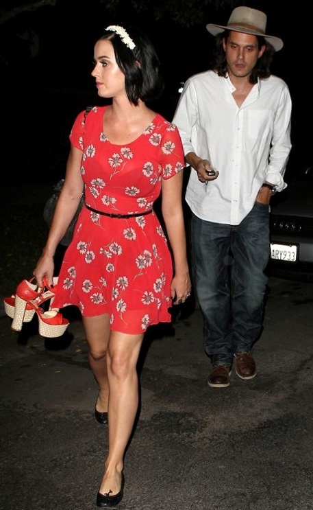 Katy Perry and John Mayer have a night out on the town!