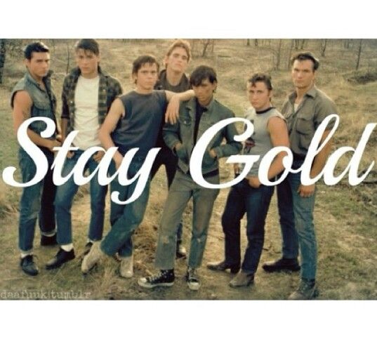 the outsiders stay gold essayer