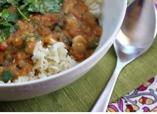 Indian-Spiced Slow-Cooker Lentils - this is so yummy! I lost the ...